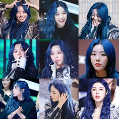 """wheein pics on Twitter: """"there is a truth called blueberry wheein… """" Wheein Mamamoo, Idol, Hair Color, Shit Happens, Twitter, Blueberry, Colour, Color, Haircolor"""