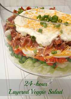 Serve this summer salad at your Fourth of July party!