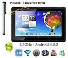 """7"""" TABLET PC 1.5GHz Android 4.0.3 WiFi 512MB/4GB Capacitive HDMI-SHIPS FROM USA"""