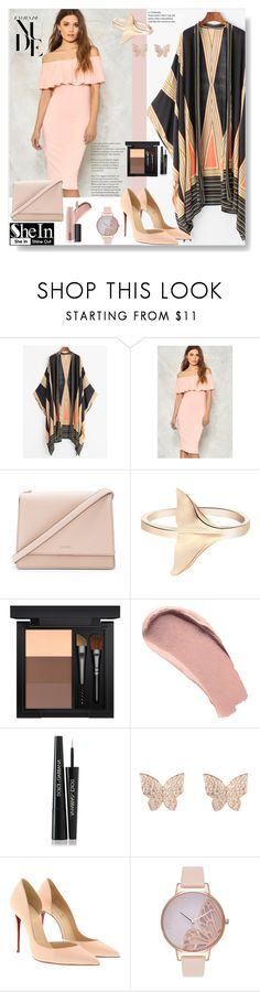 """Nude dress & kimono"" by pengy-vanou on Polyvore featuring Nasty Gal, Kate Spade, MAC Cosmetics, Burberry, Dolce&Gabbana, Latelita, Christian Louboutin and Olivia Burton"