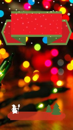 ↑↑TAP AND GET THE FREE APP! Lockscreens Art Creative Snow Light Winter Christmas Tree Holiday HD iPhone 6 Plus Lock Screen