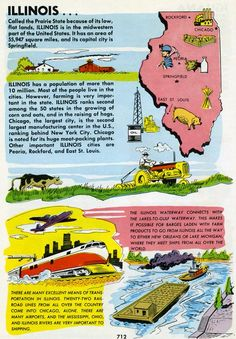"Illinois is the ""I"" from Art Linkletter's Picture Encyclopedia for Boys and Girls, 1961. (Really? Art Linkletter had his own encyclopedia?)"