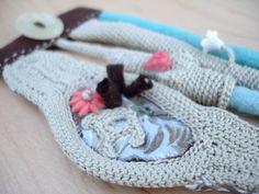 textile cuff - www.kjoo.etsy.com