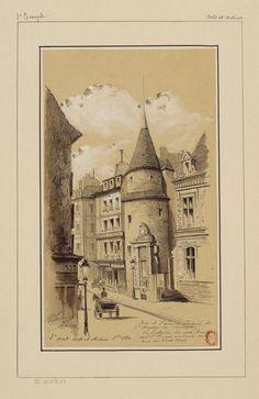 Tour de l'ancien Prieuré de St Martin des champs.. (1800s)   Flickr - Photo Sharing!