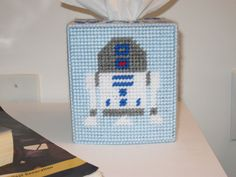 Star Wars Tissue Box Cover by CuteCanvasCreations on Etsy, $25.00