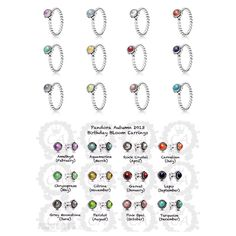 The 25 Best Pandora Birthstone Earrings Ideas On