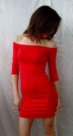 Sooo Sexy and Feminine  Super Comfy Tight Mini Dress by Cvetinka, $38.00