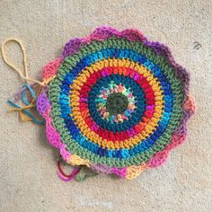 crochet mandala, crochet circles, crochetbug, crocheting, crocheted