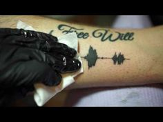 Soundwave Tattoos - Tattoos you can hear - YouTube