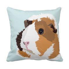 Retro Guinea Pig 'Elsie' Cushion Throw Pillows http://www.zazzle.com/retro_guinea_pig_elsie_cushion_throw_pillows-189156118896283395?rf=238205274887202706