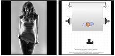 Light schemes for studio photography. All pins from: https://www.facebook.com/fotostudio76.nl