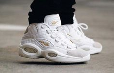 Reebok Question Mid White Party Size 11