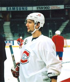 Richard Zednik. I remember his first NHL game was with the caps. Love him still