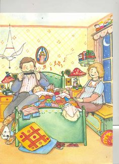 mom dad child bedtime bedroom song happy writing prompt