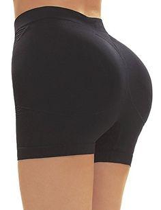 c574cefea Yulee Womens Padded Hip Enhancer Shapewear Tummy Control Panties Underwear