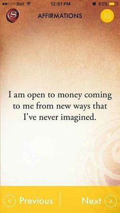 Money and Law of Attraction - Affirmations The Astonishing life-Changing Secrets of the Richest, most Successful and Happiest People in the World Positive Thoughts, Positive Vibes, Positive Quotes, Wealth Affirmations, Law Of Attraction Affirmations, Inspirierender Text, Usui Reiki, Vision Boarding, A Course In Miracles