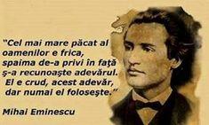 20 citate de Mihai Eminescu. Se aplică cu mare succes și la 165 de ani de la nașterea sa! Abraham Lincoln, Good To Know, Words, Funny, Quotes, Characters, Literatura, Quotations, Qoutes