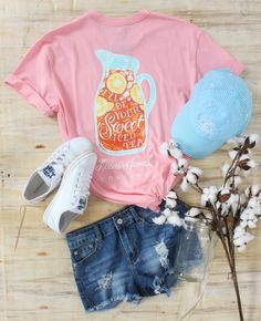 Iced Tea in Cotton Candy Pink | Lakeside Cotton