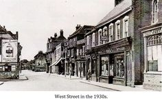 West Street Havant in the 1930s