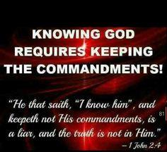 Keep YAH's commandments