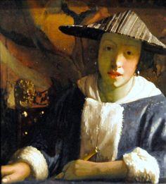 Jan Vermeer - Girl with a Flute ▓█▓▒░▒▓█▓▒░▒▓█▓▒░▒▓█▓ Gᴀʙʏ﹣Fᴇ́ᴇʀɪᴇ ﹕ Bɪᴊᴏᴜx ᴀ̀ ᴛʜᴇ̀ᴍᴇs ☞  http://www.alittlemarket.com/boutique/gaby_feerie-132444.html ▓█▓▒░▒▓█▓▒░▒▓█▓▒░▒▓█▓