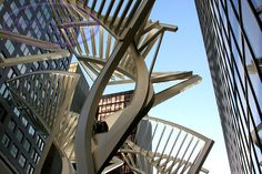 Downtown Calgary Alberta Stephen Street Art Sculpture