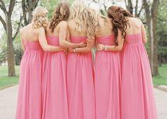 どんなピンクにする?雰囲気別ピンク色のブライズメイドのドレスCOLLECTION♡