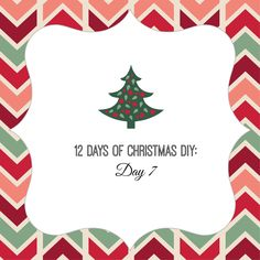 12 Days of Christmas DIY. Don't have time, space, etc. for a tree? Here are some Christmas tree alternatives.