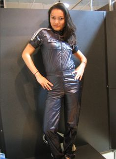 Shiny Swishy Nylon Clothes