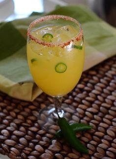 Serrano Pineapple Margarita | Barman's Journal #Margarita #Tequila