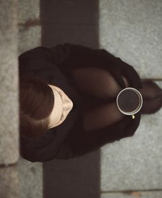 Black coffee by Monika Penkute