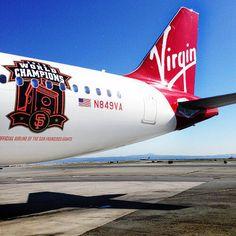 Twitter / SFGiants: .@Virgin America updates their ...