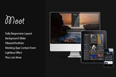 Moot Responsive Html Theme by UBLThemes on @creativemarket