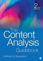 The content analysis guidebook / Kimberly A. Neuendorf