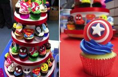superhero-cupcakes-wedding-shower
