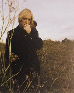 Tom Petty from the 1999 Echo album cover photo shoot