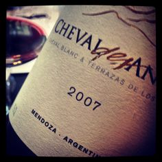 magnificently, intensely plummy/Prada-perfumed Cheval des Andes Malbec/Cabernet blend (joint venture bet Terrazas de los Andes and Ch Cheval Blanc, Miles' long-saved wine in Sideways). As I recently noted in my FOOD & WINE Classic in Aspen seminars, Malbec is not a wine for the curmudgeonly.