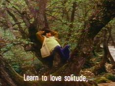 """""""What would you like to tell young people?"""" """"Learn to love solitude,"""" -Andrei Tarkovsky Moleskine, Verbatim, Director, Learning To Be, Learn To Love, Pretty Words, Quote Aesthetic, Film Aesthetic, Film Stills"""