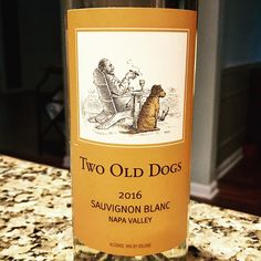 Nittany Epicurean: 2016 Herb Lamb Vineyards Two Old Dogs Sauvignon Blanc