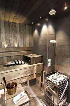 Amazing home sauna design ideas spa room/shower/sauna in 2019 сауна, парилк Sauna Design, Home Gym Design, House Design, Homemade Sauna, Sauna Hammam, Sauna Seca, Indoor Sauna, Finnish Sauna, Steam Sauna