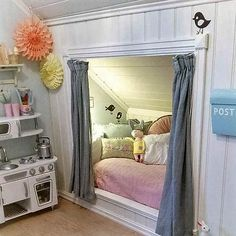 22 charming alcove bed designs you need to see - 22 charming alcove bed designs you need to see Informations About 22 charmante Alkoven-Bett-Designs, - Alcove Bed, Bed Nook, Cozy Nook, Decor Room, Bedroom Decor, Bedroom Ideas, Bedroom Interiors, Wall Decor, Bed Ideas