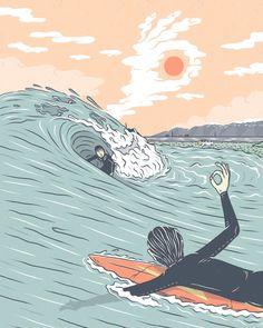 Surfboard Art, Skateboard Art, Surfboard Drawing, Surf Drawing, Beach Illustration, Mouse Illustration, Surfing Wallpaper, Best Surfboards, Retro Surf