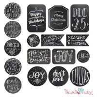 North pole tracking delivery printable tag for project life chalkboard gift tags jar toppers free printable printables shop hazel negle Choice Image