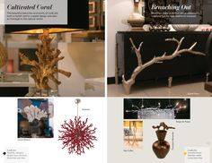 Trends: Cultivated Coral and Branching Out High Point Market, Coral, Trends, Interior Design, Spring, Summer, Fun, Beautiful, Style