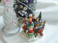 Tabletop Christmas tree Bottle brush tree Mini от FindsOfTheCity