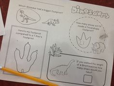 Inspired by Kindergarten: Dinosaurs! (FREEBIE!) mister bones or the big circle