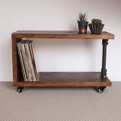 Can be used as a tv stand, side table, bookcase and more. Check it out now