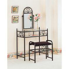 Wildon Home ® Bullhead City Vanity Set with Mirror