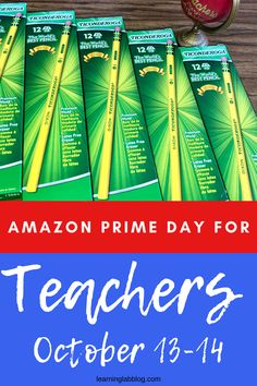The BEST Amazon Prime Days for TEACHERS 2020! Prime Day is upon us and will begin on October 13th and last through the 14th. Check out the BEST ways for teachers to score BIG savings on distance learning materials, school supplies, flexible seating furniture, DIY items, classroom organization, and MORE. Join our FACEBOOK EVENT to get a heads up on all the GREAT DEALS!! Classroom Tools, Primary Classroom, Classroom Resources, Classroom Organization, Teaching Resources, Amazon Prime Day Deals, Going Back To School, Freaking Awesome, My Teacher