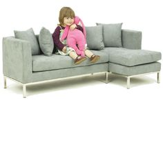 Found it at Wayfair - A+ Child Supply Blossom Corner Kidu0027s Sofa Set | debs great finds | Pinterest | Kid Children and Sofa set  sc 1 st  Pinterest : kids sectional sofa - Sectionals, Sofas & Couches